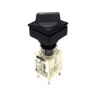 Square Selector Switch 1NO 1NC Maintained 2 Position_QXJWA-11