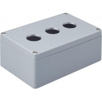 Metal Enclosure, 3 holes