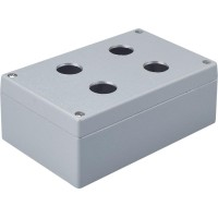 Metal Enclosure, 4 holes