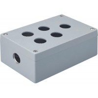 Metal Enclosure, 5 holes