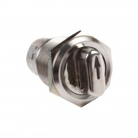 19mm Stainless Steel Selector Switch, 2NO2NC 2 Position Maintain