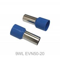 Insulated CORD PIN END Terminal Lug, Wire Ferrule, 20mm Pin Length 20pcs
